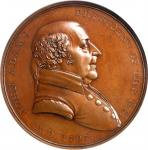 1797 John Adams Indian Peace Medal. The Only Size. Bronzed Copper. 51 mm. Julian IP-1. Second Revers