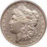 1893 Morgan Dollar. NGC AU53