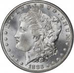 1883-CC Morgan Silver Dollar. MS-66+ (PCGS).