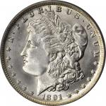1891-O Morgan Silver Dollar. MS-65 (PCGS). CAC.