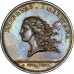 (1783) Libertas Americana Medal. Silver. Original. Paris Mint. Betts-615. MS-63 (PCGS).