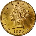 1903 Liberty Head Eagle. MS-63 (PCGS).