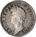 GREAT BRITAIN. 4 Pence, 1686. London Mint. James II. PCGS AU-50.