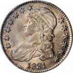 1831 Capped Bust Half Dollar. O-104. Rarity-1. MS-65 (PCGS).
