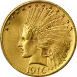 1916-S Indian Eagle. MS-65+ (PCGS).