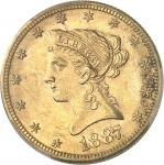 USA République fédérale des États-Unis d'Amérique (1776-à nos jours). 10 dollars Liberty 1887, S, Sa