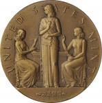 1949 United States Assay Commission Medal. Bronze. 51 mm. By Gilory Roberts and Frank Gasparro. JK A