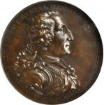 1805 Washington Eccleston Medal. Bronzed Copper. 76 mm.  By Thomas Webb, for Daniel Eccleston. Musan
