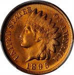 1895 Indian Cent. MS-66 RD (PCGS).
