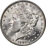 1892-O Morgan Silver Dollar. MS-65 (PCGS).