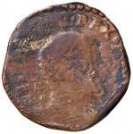 Italian coins;NAPOLI Filippo II (1554-1598) Tornese 1598 - Magliocca 152 CU (g 6.75) - MB;40