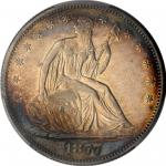 1877-S Liberty Seated Half Dollar. Type II Reverse. WB-35. Rarity-3. Very Small S. EF-45 (PCGS).