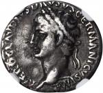 NERO CLAUDIUS DRUSUS (SON OF TIBERIUS AND FATHER OF CLAUDIUS, DIED 9 B.C.). AR Denarius (3.65 gms),