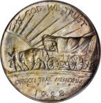 1928 Oregon Trail Memorial. MS-64 (PCGS). OGH. CAC.