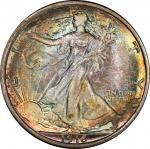 1916-D Walking Liberty Half Dollar. MS-67 (PCGS). CAC.