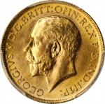 GREAT BRITAIN. Sovereign, 1911. London Mint. PCGS MS-64.