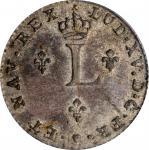 1740-E Sou Marque. Tours Mint. Vlack-78. Rarity-7. MS-64 (PCGS).