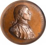 1779 (1845-1860) Captain John Paul Jones / Bonhomme Richard vs. Serapis Naval Medal. Paris Mint Rest