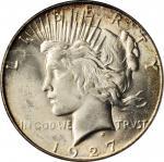 1927-S Peace Silver Dollar. MS-65 (PCGS).