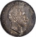 GERMANY. Hohenzollern-Hechingen. 2 Talers, 1844. Munich Mint. Friedrich Wilhelm Constantin. PCGS AU-
