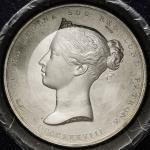 GREAT BRITAIN Victoria ヴィクトリア(1837~1901) AR Medal 1838 マット Proof -UNC