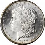 1878-CC Morgan Silver Dollar. MS-65 (PCGS).