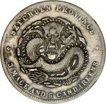 CHINA. Szechuan. 3 Mace 6 Candareens (50 Cents), ND (ca. 1898-1908). NGC VF-20.