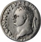 TITUS, A.D. 79-81. AR Denarius, Rome Mint, A.D. 79. ANACS VG 10.