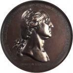 1776 (ca. 1860) Washington Before Boston Medal. U.S. Mint Gunmetal Dies. Bronzed Copper. Musante GW-