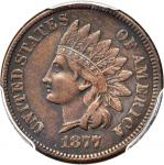 1877 Indian Cent. VF-35 (PCGS).