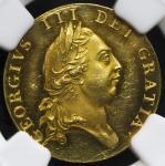 GREAT BRITAIN George III ジョージ3世(1760~1820) 1/2Guinea 1787 NGC-PF60 Cameo Proof AU