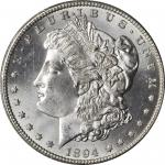 1894-S Morgan Silver Dollar. MS-64 (PCGS).