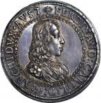 AUSTRIA. 2 Taler, ND (1646). Hall Mint. Ferdinand Charles (1632-62). PCGS MS-64 Secure Holder.
