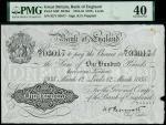Bank of England, Kenneth Oswald Peppiatt (1934-1949), 100, Leeds, 12 March 1935, serial number 92/Y