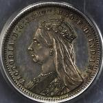 GREAT BRITAIN Victoria ヴィクトリア(1837~1901) Pattern Piefort Sovereign in Silver 1893 PCGS-PR63 トーン Proo