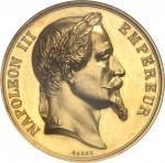 FRANCE Second Empire / Napoléon III (1852-1870). Médaille d'Or, Prix d'Honneur du Collège Rollin, av
