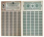Spanish-American War United States 3% Loan of 1898. Washington, D.C. Issued, uncancelled. Black on b