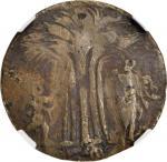 Undated (Circa 1670) New Yorke in America Token. W-1705. Brass. Fine Details--Scratches (NGC).