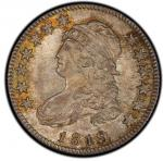 1819 Capped Bust Quarter. Browning-1. Large 9. Rarity-5-. Mint State-65 (PCGS).PCGS Population: 2, n