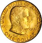 1922 Grant Memorial Gold Dollar. Star. MS-64 (PCGS). CAC. OGH.
