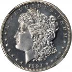 1893 Morgan Silver Dollar. Proof-64 (NGC).