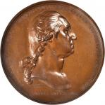 1776 Washington Before Boston Medal. Bronze. 69 mm. U.S. Mint Restrike. Musante GW-09-US1, Baker-49.
