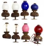 清代各品级顶戴一组8枚,保存良好,少见 注:顶戴指代表官阶的顶珠 ,不同的顶珠质料和颜色代表不同品级 , 雍正八年 ( 1730 年 ) , 更定官员冠顶制度 , 以颜色相同的玻璃代替了宝石 : 一品