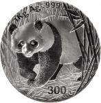 2002年熊猫纪念银币1公斤精制 NGC PF 69