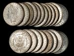 Lot of (240) 1881-O Morgan Silver Dollars. Mostly Extremely Fine to About Uncirculated.