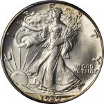 1939-S Walking Liberty Half Dollar. MS-66+ (PCGS).