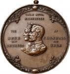 1901 Calgary Assembly Medal. Copper. Jamieson Fig. 39. Extremely Fine.