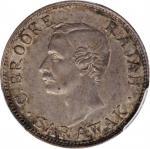 1911-H年沙捞越10分。喜敦造币厂。SARAWAK. 10 Cent, 1911-H. Heaton Mint. PCGS AU-58 Gold Shield.