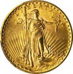 1909/8 Saint-Gaudens Double Eagle. FS-301. MS-63 (PCGS). CAC.