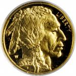 2008-W Tenth-Ounce Gold Buffalo. Proof Deep Cameo (Uncertified).